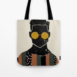 Black Hair No. 7 Tote Bag