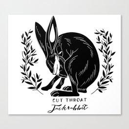 The Blind Jack Rabbit Canvas Print
