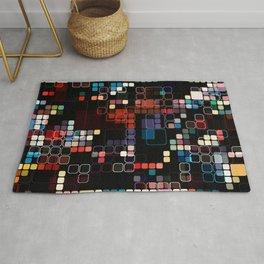 Colorful Geometric Graphic Rug