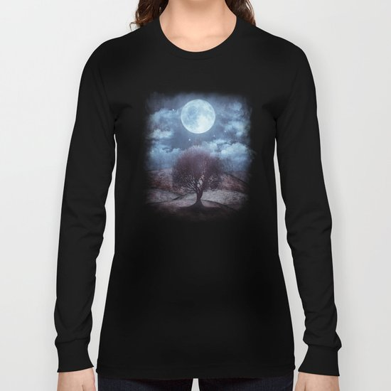 Once upon a time... The lone tree. Long Sleeve T-shirt