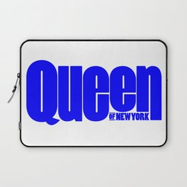 Queen of New York (Blue) Laptop Sleeve