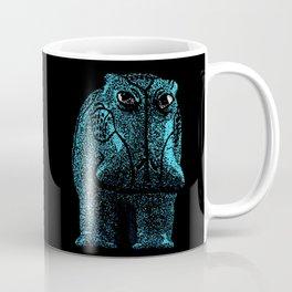 Blue Hippo Coffee Mug