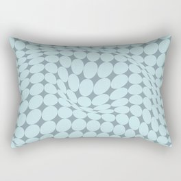 Swirling Points - Optical game 22 Rectangular Pillow