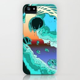 Surfrealism 59 iPhone Case