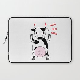MooHooHaHa Laptop Sleeve