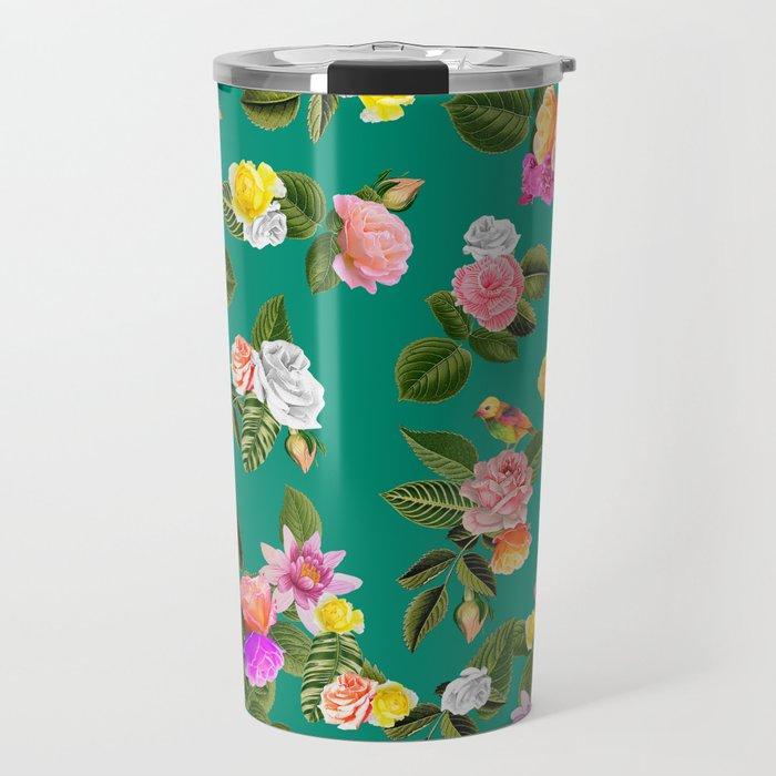 Frida Floral Travel Mug