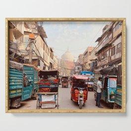 Old Delhi,  India Serving Tray