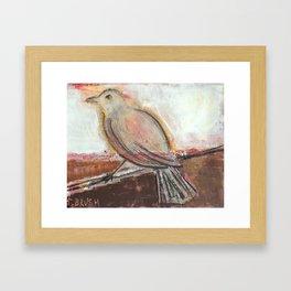 Eye on the Sparrow Framed Art Print