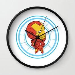 Itty Bitty Iron Man Wall Clock