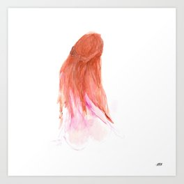 The Pink Ladies No.3 Painting Art Print