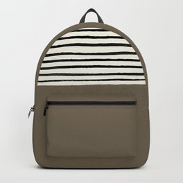 Cappuccino x Stripes Backpack