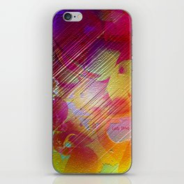 """"""" The patience is the key of the well-being. """" iPhone Skin"""