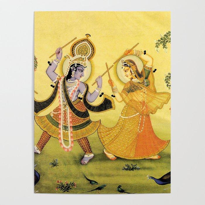 Krishna - Hindu Poster