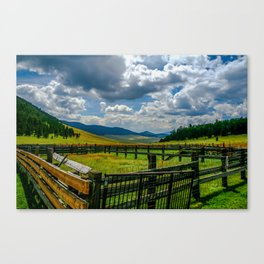 Valle Corral  Canvas Print