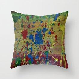 Creative Outburst Throw Pillow