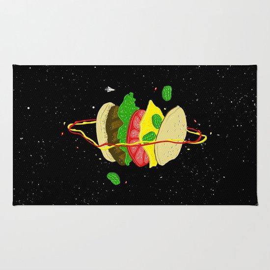 Planetary Discovery 8932: Cheeseburger Rug
