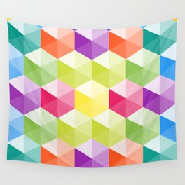 Hexagon - 02 Wall Tapestry