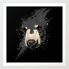 The Hidden Bear Art Print