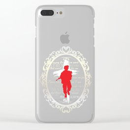 Memorial Day Veteran Marines Army Soldier Navy American Vets Served To Protect Gift Clear iPhone Case