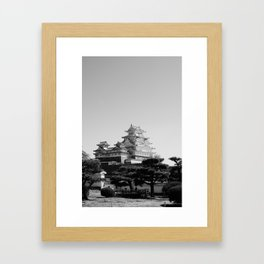 Himeji Framed Art Print