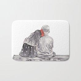Boy Meets Girl Bath Mat