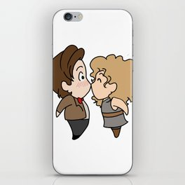 Chibi Eleven and River 2 iPhone Skin
