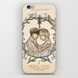 "Illustration from the video of the song by Wilder Adkins, ""When I'm Married"" iPhone Skin"