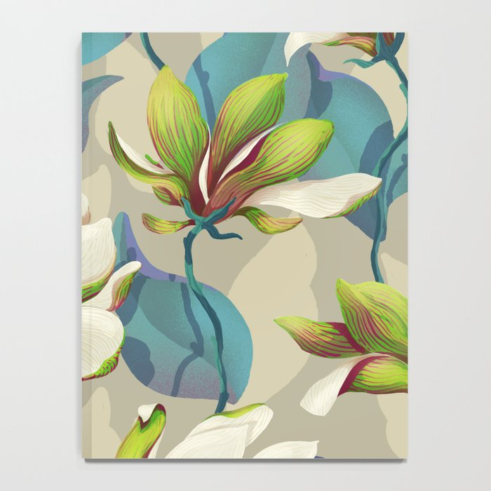magnolia bloom - vivid version Notebook