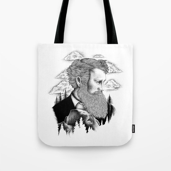 JOHN MUIR Tote Bag