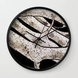Thorns in Detail Wall Clock