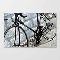 yowamushi pedal Canvas Prints featuring Urban Pedal by Art By Amarose