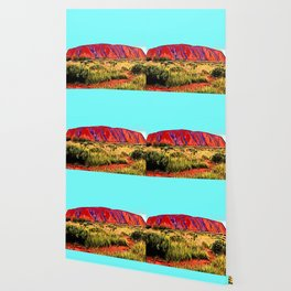 The Red Centre Gta-like Setting Arid Dry Steppe Wallpaper