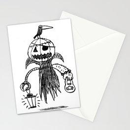 Jack o latern Stationery Cards