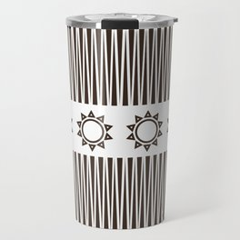 Illusion and Circles Travel Mug