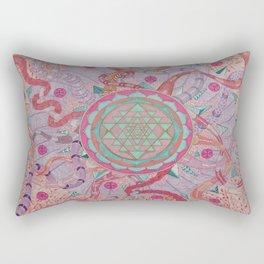 """""""The wheel of life"""" Rectangular Pillow"""