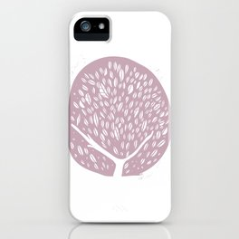 Tree of life - lilac iPhone Case