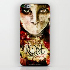 ROSE indie horror poster iPhone & iPod Skin