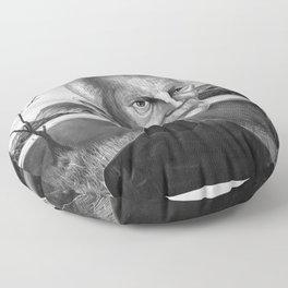 Samuel Beckett Floor Pillow