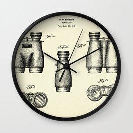 Binoculars-1947 Wall Clock