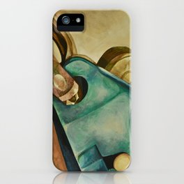 Rock Climbing Belay Device and Carabiner iPhone Case