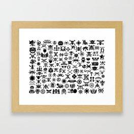 One Piece Jolly Roger Framed Art Print