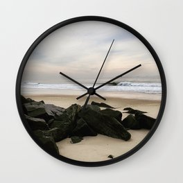 Jersey Shore Sunrise Wall Clock