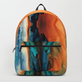 The Great Spirit - Abstract Art By Sharon Cummings Backpack