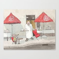 Mouse on the House Canvas Print