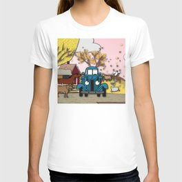 Blue truck and friends T-shirt
