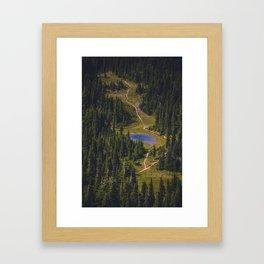 McNeil Point Framed Art Print