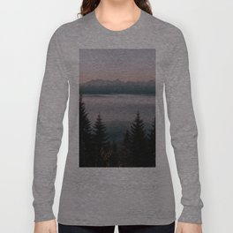 Faraway Mountains - Landscape and Nature Photography Long Sleeve T-shirt