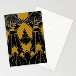 Abstract #635 Stationery Cards