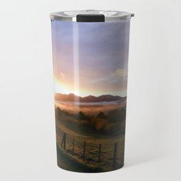 New Zealand Sunrise Travel Mug