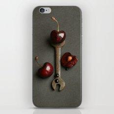 Cherries and Vintage Spanner iPhone & iPod Skin